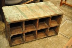 wooden bottle box