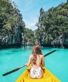 paddling the Small Lagoon in the Philippines El Nido Palawan, Coron Palawan, Siargao, Palawan Island, Travel Pictures, Travel Photos, Summer Pictures, Travel Images, Beach Photography