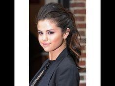 ▶ Selena Gomez Voluminous Ponytail | Jesse Minty - YouTube