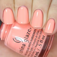 China Glaze More To Explore | Spring 2015 Road Trip Collection | Peachy Polish