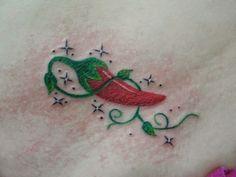 Tatuagem de Pimenta vermelha
