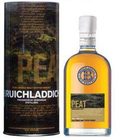 BRUICHLADDICH - PEAT  PRICE:   $ 76.99  SKU / UPC: 881888 / 618105560703   TYPE:  Spirits - Whisky - Scotch - Malt  VOLUME:   700 mL  ALCOHOL:   46%  COUNTRY:  United Kingdom  KOSHER:   No  ORGANIC:   No