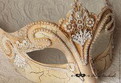 Карнавальная маска Венецианская Нежная