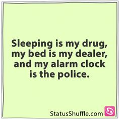 Damn alarm popo!