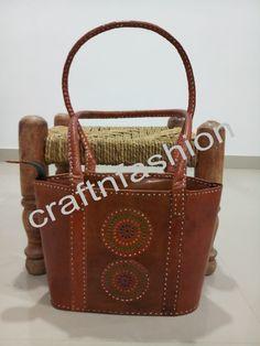 Hippie Boho Fashionable Leather Handbag For Ladies. Fringe Handbags, Leather Handbags, Leather Bag, Mirror Work, Indian Ethnic, Hippie Boho, Fashion Bags, Latest Fashion, Shoulder Bag