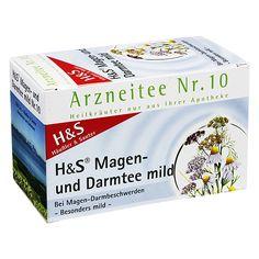 H&S Magen- und Darmtee mild Nr. 10, 20 Filterbeutel | PZN: 3761426 | INHALTSTOFFE: Schafgarbenkraut, Anis, Fenchel, Kümmel, Kamillenblüten | HERSTELLER: | • Bei Magen-Darmbeschwerden • Besonders mild >> http://www.juvalis.de/3761426/hunds-magen-darmtee-mild-filterbeutel << #Apotheke #Tee