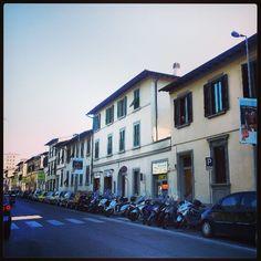 Firenze Via lungo L'Affrico