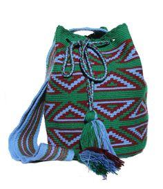 Blu Wayuu Bag