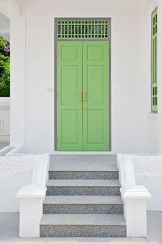 Green door--