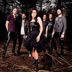 Within Temptation in Trondheim Gothic Metal, Gothic Rock, Music Love, My Music, Metal Bands, Rock Bands, Musica Heavy Metal, 2014 Music, Symphonic Metal