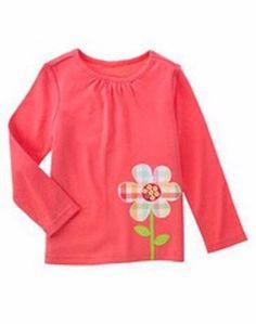 Gymboree Girls Spring Rainbow Plaid Flower Shirt Top 3 Years EUC Everyday Cotton #Gymboree #Everyday