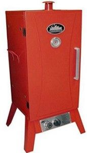 Smokehouse Products 9933 Outdoor Propane Smoker/Cooker: propane based smoking with quality appliance.