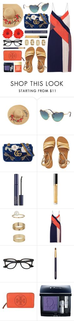 """Who We Are"" by smartbuyglasses-uk ❤ liked on Polyvore featuring Miu Miu, Gucci, Billabong, Chanel, Miss Selfridge, Diane Von Furstenberg, McQ by Alexander McQueen, Estée Lauder, Tory Burch and Christian Dior"