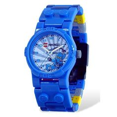 Kids' LEGO® Ninjago Jay with Minifigure Watch