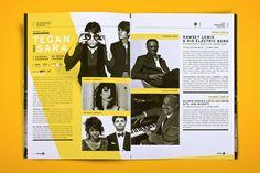 Saskatchewan Jazz Festival 2011 by Will Miller, via Behance