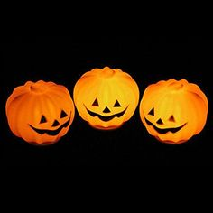 Carnival Party JackOLantern LED Pumpkin Night Light Halloween Decoration Props -- Click image for more details. (This is an affiliate link)