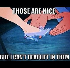 """Those are nice, but I can't deadlift in them."" #Fitness #Humour"