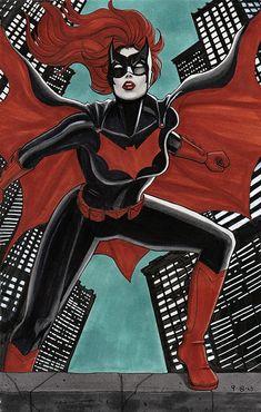batwoman, by Lynne Yoshii