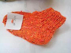 Socken Gr.37 in fröhlichem Design von Atelier van der Valk auf DaWanda.com