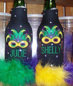 Mardi Gras   personalized koozie of your choice by KoozieFloozie, $14.95