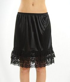 Lace Skirt Extender Half Slip * Read more at the image link.