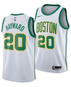 9eb85a723 Nike Men Gordon Hayward Boston Celtics City Swingman Jersey 2018