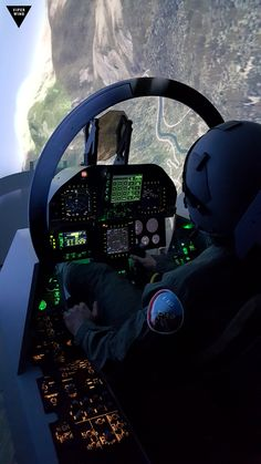 F-18 simulator cockpit, Superhornet