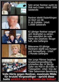 Jagd endlich solche Richter aus dem Land. Es ist Heiko Maas sein Verdienst, um Merkel zu unterstützen. Change Your Mind, Change The World, Political Satire, Freedom Of Speech, So True, You Changed, Wake Up, In The Heights, Fun Facts