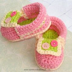 Crochet Baby Booties Crochet Pattern Baby Moccasins Booties (PDF Pattern for sale...