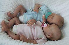 Newborn Love Nursery/Sarah Daugherty Reborn Twins A & B by Bonnie Brown