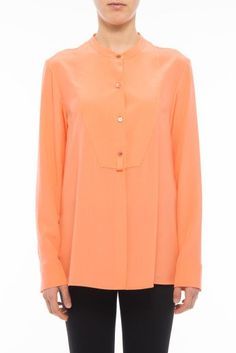 STELLA MCCARTNEY Crepe Shirt. #stellamccartney #cloth #shirts