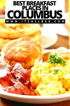 Guide to the best best breakfast in Columbus Ohio. Tips on the best place for breakfast from cool cafes to breakfast restaurants serving up all day breakfasts, breakfast buffet and 24 hour breakfast spots in Columbus that you don't want to miss out on. Places to check out in Easton, Downtown, German Village.| Downtown Columbus Breakfast | Restaurants For Breakfast In Columbus  | German Village Breakfast Columbus Ohio | Breakfast Columbus Spots | Places To Eat Breakfast In Columbus Ohio