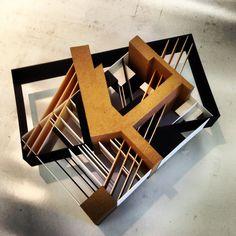 Graphic design interpretation model #architecture #model