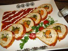 رولت مرغ _Chicken Roulette Persian, Sushi, Culture, Chicken, Fruit, Ethnic Recipes, Food, Persian People, Essen