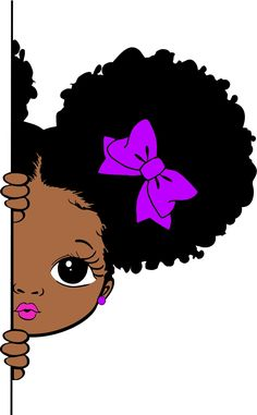 Art Black Love, Black Girl Art, Art Girl, Drawings Of Black Girls, Black Art Painting, Natural Hair Art, Black Girl Cartoon, Black Art Pictures, African American Art