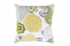 """Statice  Perfect spring pillow! 100% Polyester 18"""" x 18"""" Down Filler"""