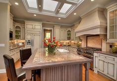 A skylight in the kitchen is the icing on the cake. More from Owen Signature Homes: