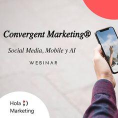 🔥 Webinar🔥¿Qué es el Convergent Marketing®️? 📲2 de cada 3 minutos de los que navegamos por Internet lo hacemos desde dispositivos móviles 🤔  Si quieres empezar a crear estrategias de marketing mobile para captar, fidelizar y convertir tus clientes potenciales en clientes reales 💯 ¡No te puedes perder los Webinars gratuitos para explicar que es el Convergent Marketing®️ y cómo puede ayudarte a impulsar las ventas de tu negocio!  ¿Quieres asistir? 🔝 Déjanos un comentario o un… Internet, Social Media, Instagram, Comment, Marketing Strategies, Business, Create, Messages, Social Networks