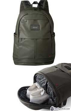 Backpack with shoe compartment - Best work to gym bags for men