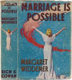 Well, they do say ANYTHING is possible... The flat cover from a book by Margaret Widdemer, published by Rich & Cowan Ltd., London, UK. Believed to be from 1939 and found in Brighton.