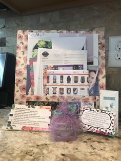 My lap board and contents of my Scentsy swag bags. #scentsy #crafty #diy https://scentsbysteviefaye.scentsy.us