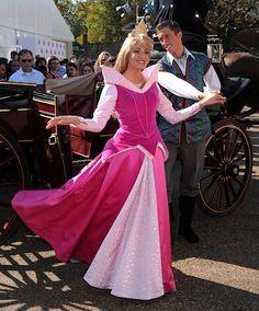 At Rapunzel's Coronation in London...
