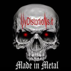 MyDistortions.it - La musica Heavy Metal & Hard Rock passano da qui! #MyDistortions #Metal #HeavyMetal #HardRock #Rock #RockAndRoll #RockOn #MadeInMetal