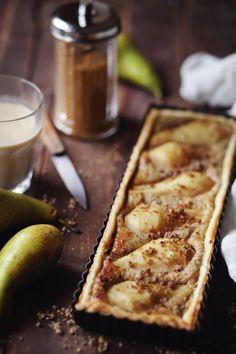 Tarte aux poires et noix de pécan | chefNini