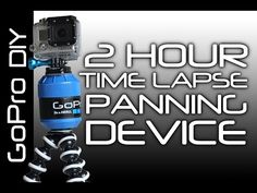How to make a GoPro 2 hour Time Lapse Panning device with tripod mount. For long Time Lapse with slow rotating motion. Similar to a kitchen timer but slower . Gopro Diy, Home Computer, Gopro Photography, Cool Stuff, Ideas, Youtube, Accessories, Thoughts, Youtubers