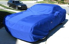 Thermal Control Products' car covers are utilized by numerous top names in the professional motorsports industry as well as commercial markets. They are used to protect vehicles from dirt, debris, heat, and inclement weather.  Our car covers include a variety of customizable features including linings, fastenings, openings, graphics, and materials.