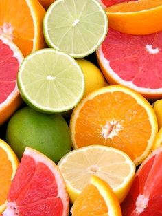 Gorgeous bright healthy citrus colours