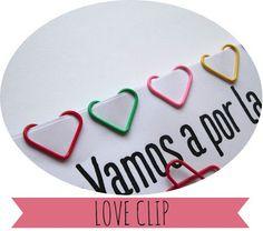 Diyearte - DIY: ♥ LOVE CLIP ♥