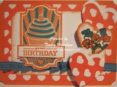 DOUBLE LAYER POP OUT/UP BIRTHDAY CARDS