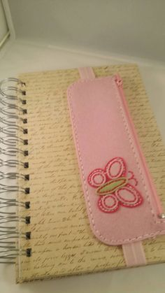 Check out this item in my Etsy shop https://www.etsy.com/listing/248273491/pink-butterfly-pen-and-pencil-case-and